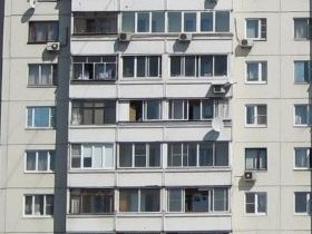 Остекление балкона п-46м.