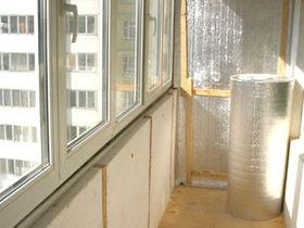 Утепляем балкон на зиму в Москве