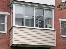 Чем обшить снаружи алюминиевый балкон