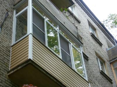 Цветные алюминиевые окна