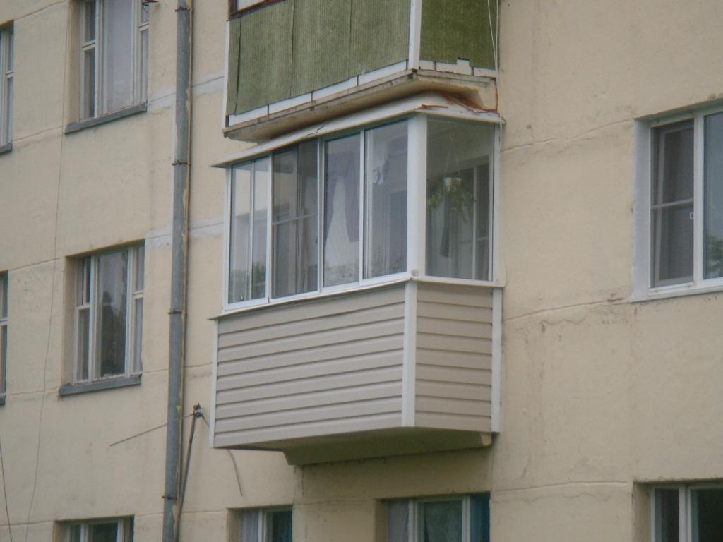 Остеклить балкон алюминиевым профилем — недорого