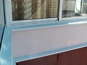 Не забудьте заказать отлив на балкон
