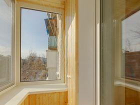 Отделка балконов деревянной вагонкой