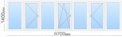 Теплое остекление балконов и лоджий в домах серии и-209а.