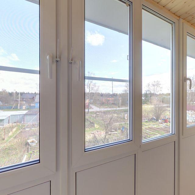 Пластиковые окна для лоджии и209а. - металлопластиковые окна.
