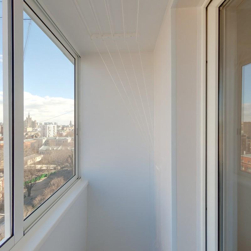 Отделка балкона серия ii 68. - остекление - каталог статей -.