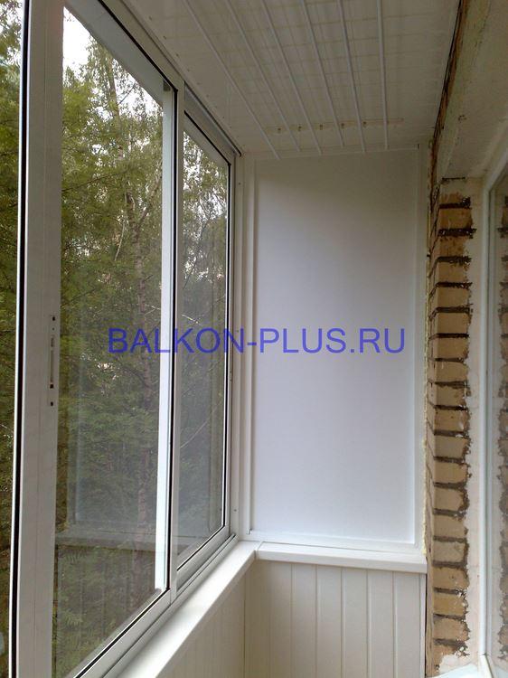 Алюминиевое холодное остекление балконов и лоджий - фото.