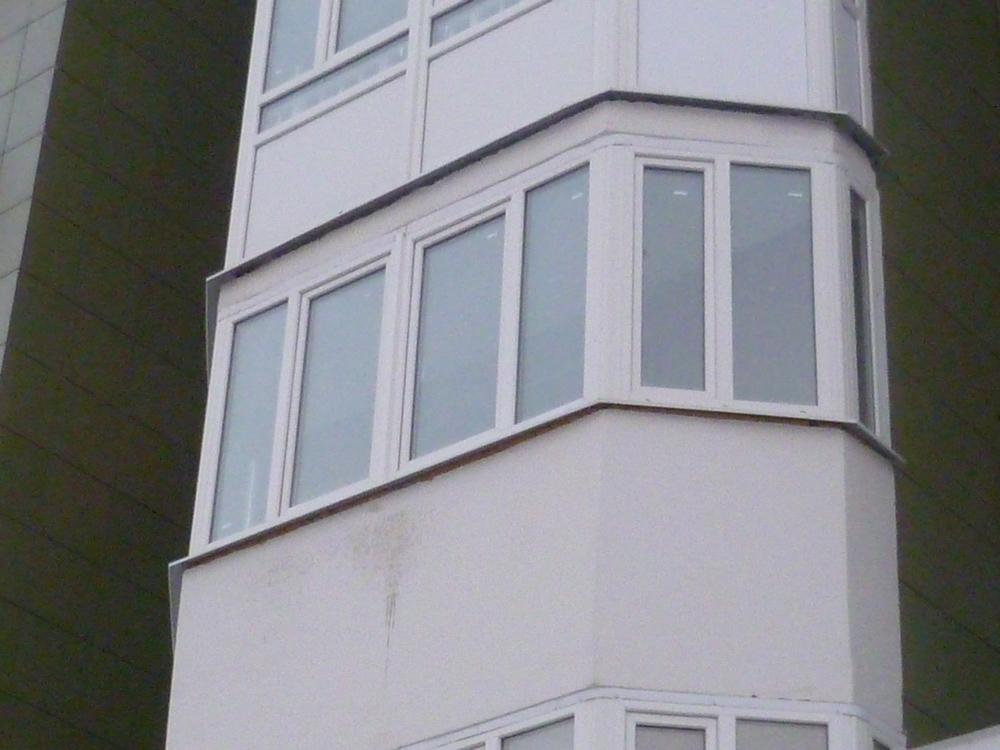 Проекты: застеклить шестигранный балкон дешево.