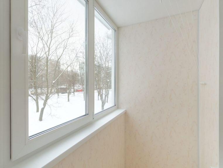 Теплое остекление балкона п46. - остекление лоджий - каталог.